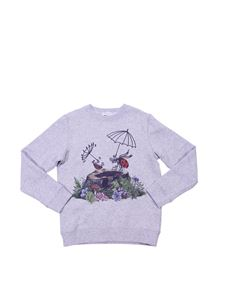 "Stella McCartney Kids - ""Betty"" grey sweatshirt"