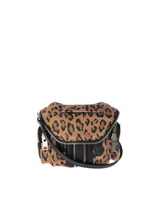 "Alexander Wang - ""Micro Marty"" animalier printed shoulder bag"