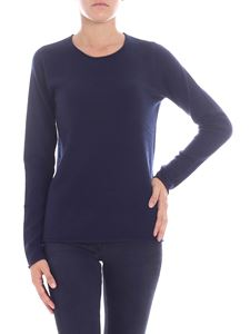 Majestic Filatures - Dark blue cashmere sweater