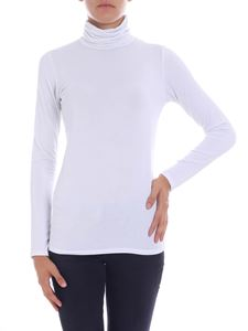 Majestic Filatures - White lurex turtleneck