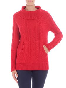 Woolrich - Red knitted pullover