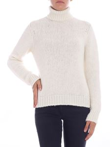 Majestic Filatures - Cream-colored wool sweater