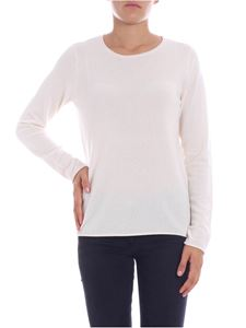 Majestic Filatures - Cream-colored cashmere sweater