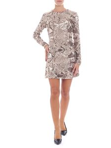 Parosh - Mini golden dress with sequins