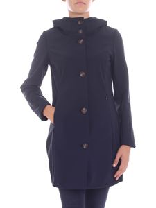 "RRD Roberto Ricci Designs - ""Thermo Parka"" dark blue coat"