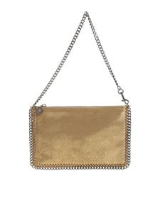 "Stella McCartney - ""Falabella"" golden clutch"