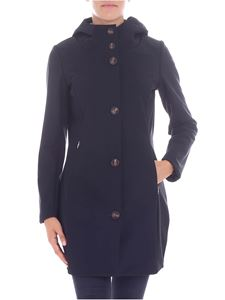"RRD Roberto Ricci Designs - ""Thermo Parka"" black coat"