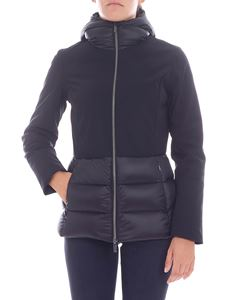"RRD Roberto Ricci Designs - ""Winter Hybrid"" black down jacket"