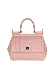 Dolce & Gabbana - Pink leather handbag