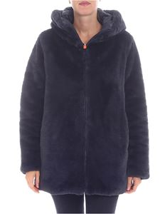 Save the duck - Reversible eco-fur puffed jacket