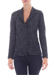 T-jacket by Tonello - Two-button jacket in shades of blue
