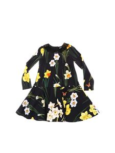 Dolce & Gabbana Jr - Blue dress with daffodil print