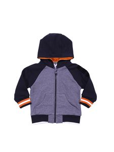 Givenchy - Grey and blue hoodie