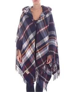 Vivienne Westwood  - Poncho multicolor stampa check