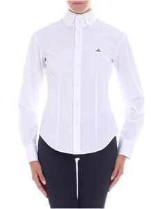 Vivienne Westwood  - White shirt with embroidered logo