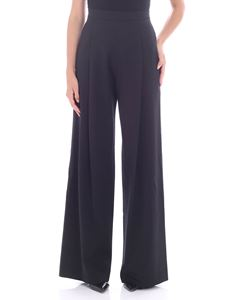 Fuzzi - Black trousers with pleats
