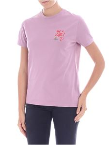 Vivienne Westwood  - Lilac embroidered t-shirt