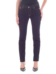 Vivienne Westwood Anglomania - Dark blue jeans with stitching