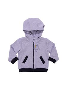 Baby Dior - Grey and black hoodie with zip