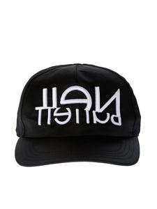 Neil Barrett - Black branded baseball cap