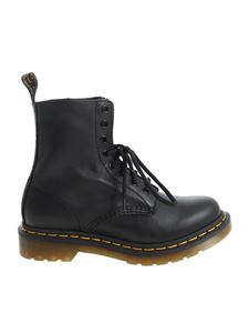 Dr. Martens - 1460 Pascal Virginia ankle boots in black