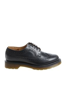 "Dr. Martens - ""3989 Smooth"" black derby brogue"