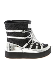 Chiara Ferragni - Black and silver snow boots with glitter
