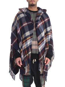 Vivienne Westwood  - Multicolor poncho with check print