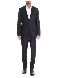 Karl Lagerfeld - Black wool two button suit