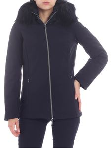 "RRD Roberto Ricci Designs - ""Storm"" dark blue down jacket"
