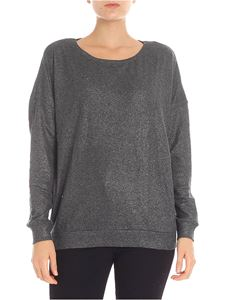 Majestic Filatures - Grey melange lamé sweater