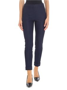 KI6? Who are you? - Black trousers with blue stripes