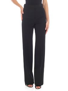 Stella McCartney - Black trousers with tailored pleat