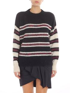 """Isabel Marant Étoile - """"Russell"""" black and cream pullover"""