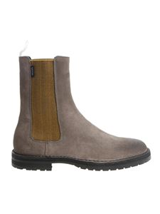 PS by Paul Smith - Grey suede Chelsea boots