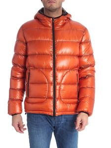 Herno - Orange and brown reversible down jacket