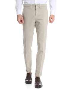 Fay - Beige trousers with logo
