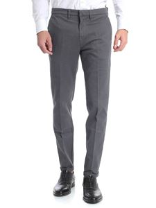 Fay - Grey trousers with logo