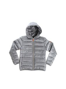 Save the duck - Grey breathable quilted jacket