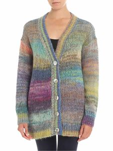 Ermanno by Ermanno Scervino - Cardigan multicolor overfit