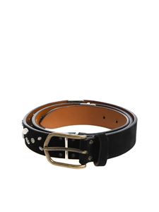 Andrea D'Amico - Black studded belt