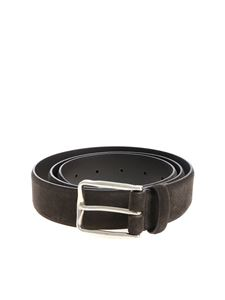 Andrea D'Amico - Brown suede belt