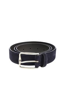 Andrea D'Amico - Blue suede belt