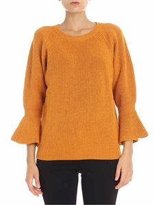 Michael Kors - Orange pullover with flared sleeves