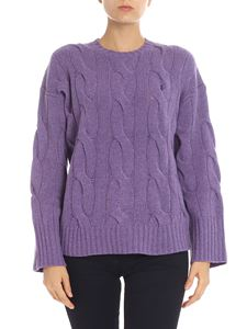 POLO Ralph Lauren - Purple pullover with logo