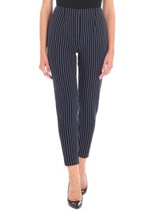 Tommy Hilfiger - Pinstriped blue trousers