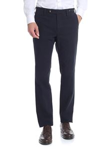 PT01 - Blue stretch trousers