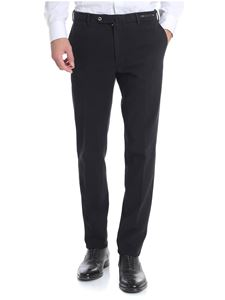 PT01 - Chino black stretch trousers