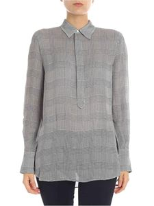POLO Ralph Lauren - Black and white houndstooth blouse