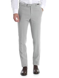PT01 - Grey stretch cotton chino trousers